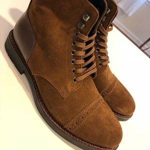 Mens Coach Bleecker cap toe Boots size 10.5&9 New!